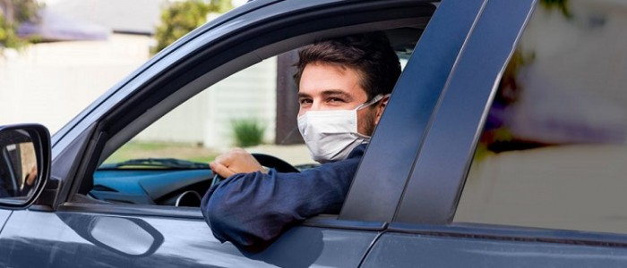 Madeira airport transfers drivers that have face mask